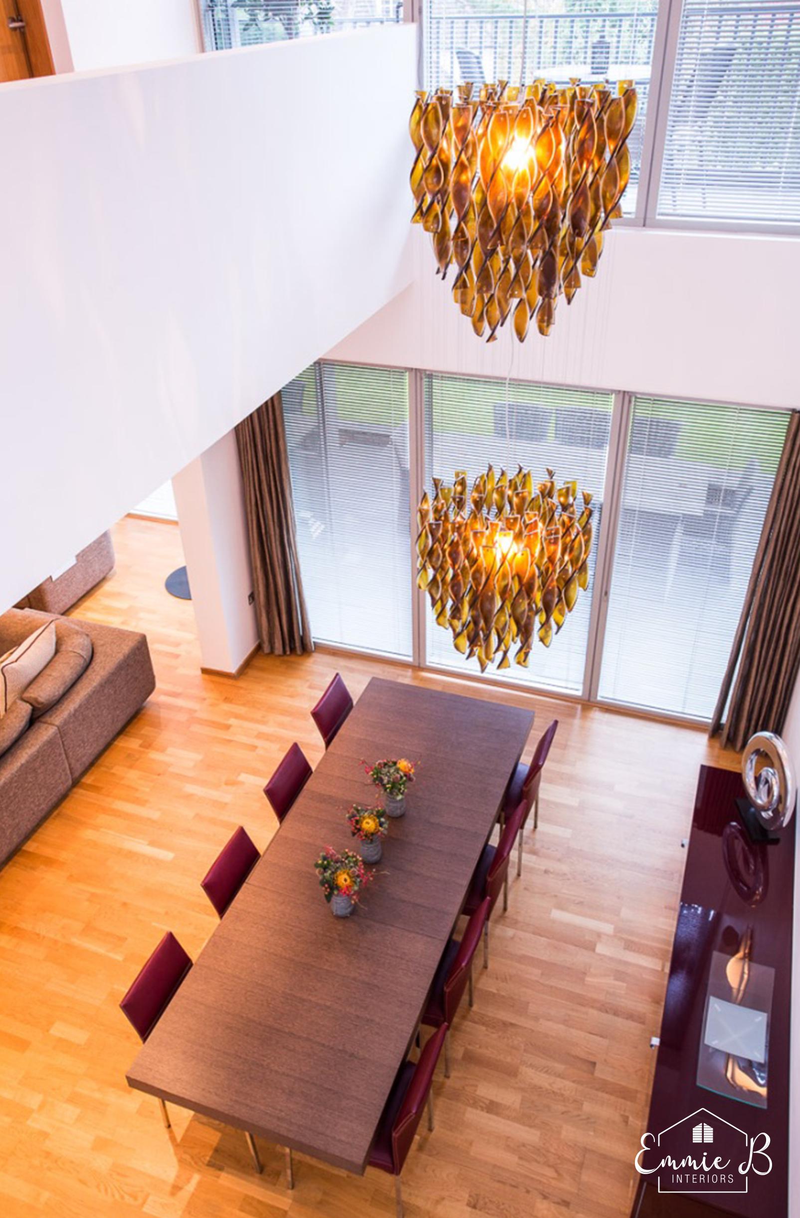 living space interior design Cheshire
