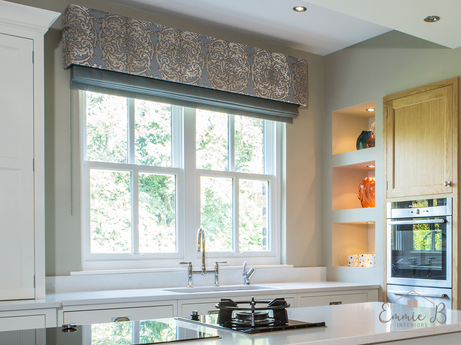 Window dressing kitchen
